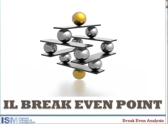il break even point nel business plan: come si calcola e a cosa serve.