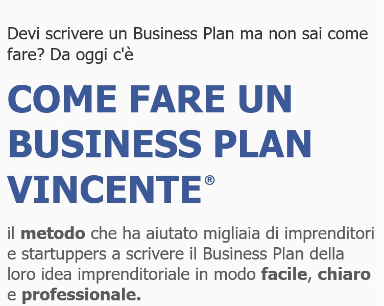 Come fare un Business Plan Vincente
