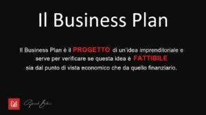 Business Plan e fattibilità dell'idea
